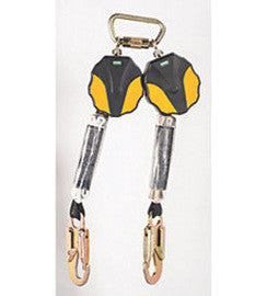 MSA 6' Workman® Twin-Leg Mini Personal Fall Limiter With 36C Snaphook