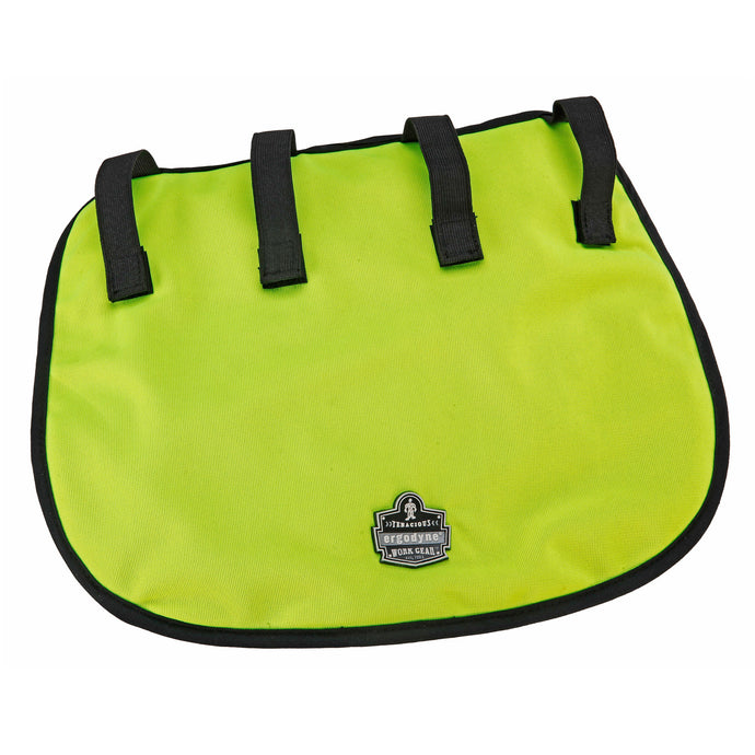 Ergodyne Hi-Viz Lime Chill-Its 6670Ct Advanced Pva Evaporative Neck Shade With Hook And Loop Straps