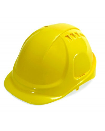 Durashell - Vented Cap Style Hard Hat - Yellow