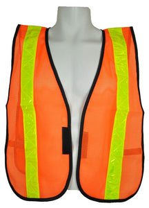 3A Safety - All-Purpose Mesh Safety Vest - 2 inch wide PVC tape