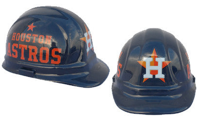 Houston Astros - MLB Team Logo Hard Hat Helmet