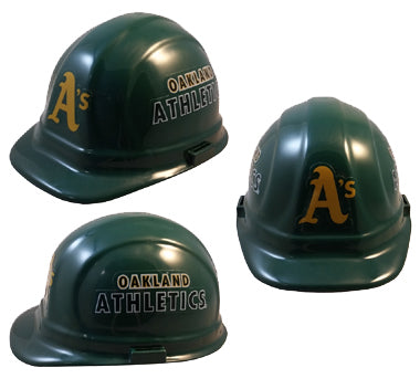 Oakland Athletics - MLB Team Logo Hard Hat Helmet
