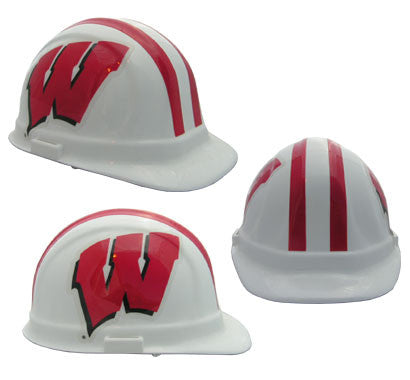 Wisconsin Badgers - NCAA Team Logo Hard Hat Helmet