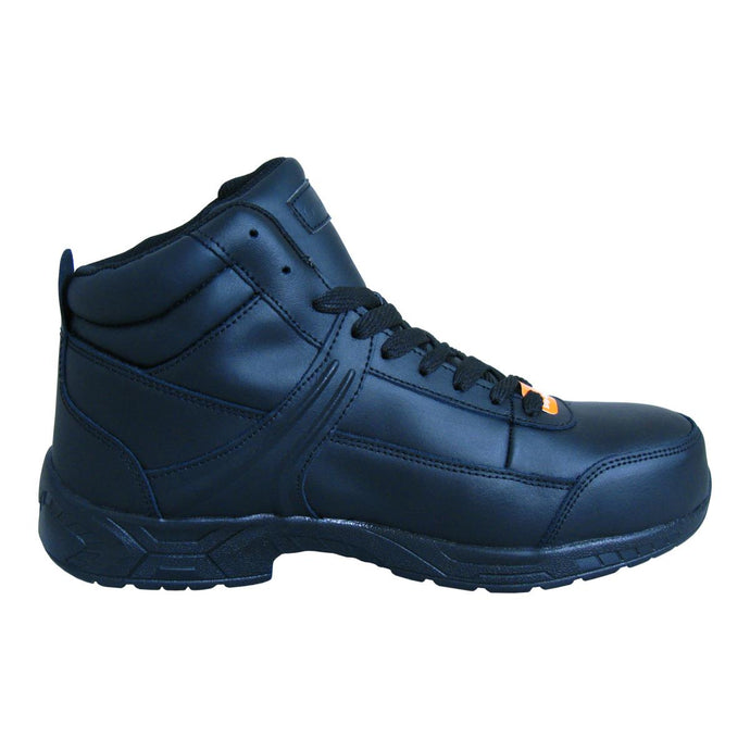 Genuine Grip Footwear- 1021 Men's Black Steel Toe Boot