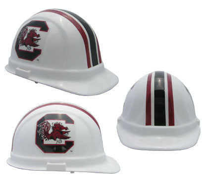 South Carolina Game Cocks - NCAA Team Logo Hard Hat Helmet