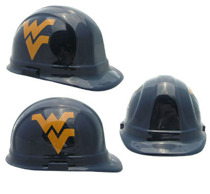 West Virginia Mountaineers - NCAA Team Logo Hard Hat Helmet