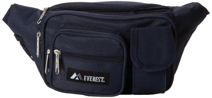 Everest Multiple Pocket Waist Pack  - Navy