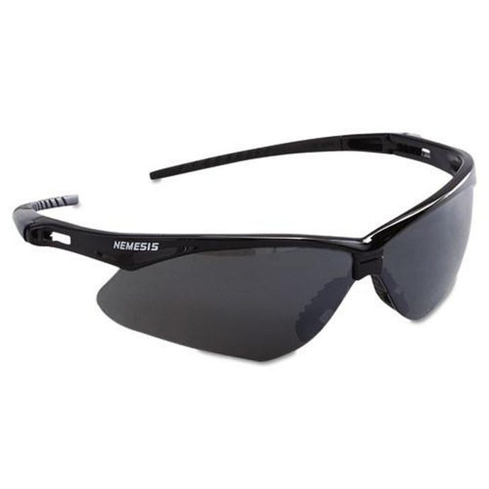 Jackson Nemesis Safety Glasses Black Frame - Smoke Lens