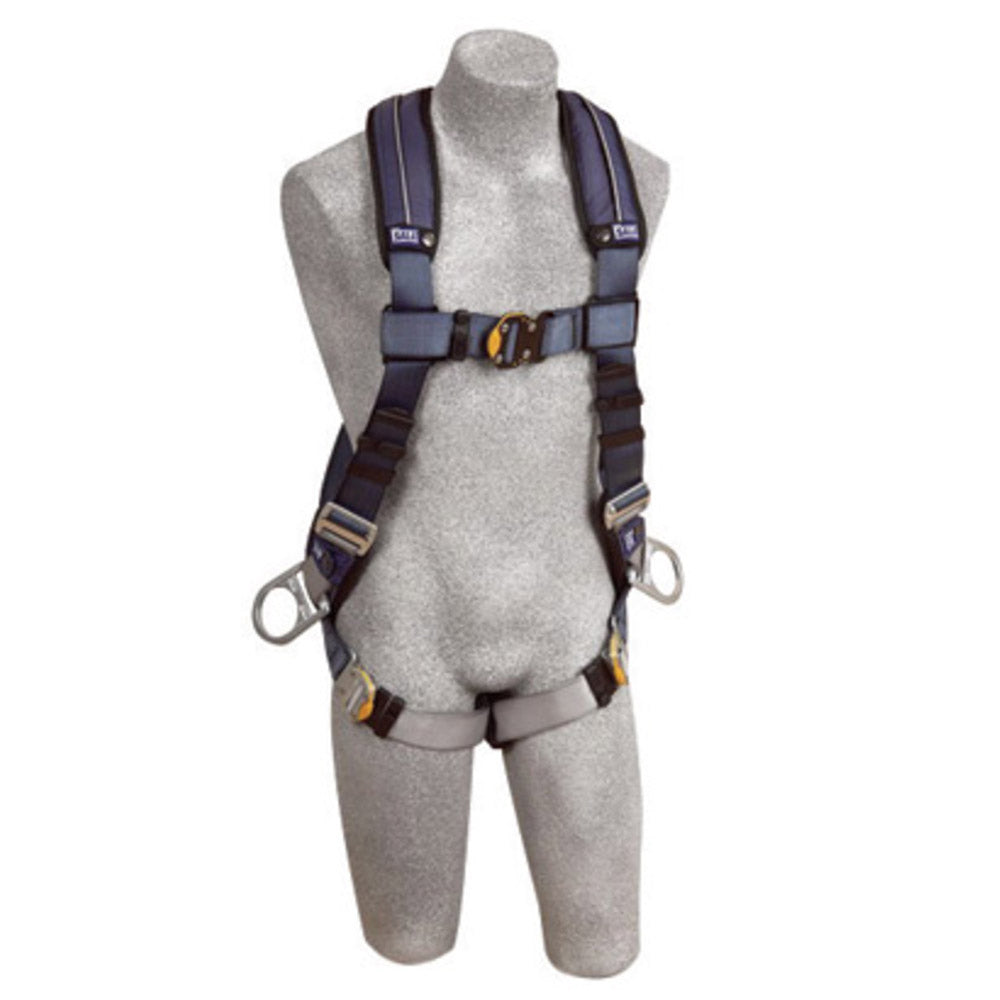 3M DBI-SALA X-Large ExoFit XP Full Body/Vest Style Harness With Back And Side D-Ring, Quick Connect Chest And Leg Strap Buckle And Removable Comfort Padding