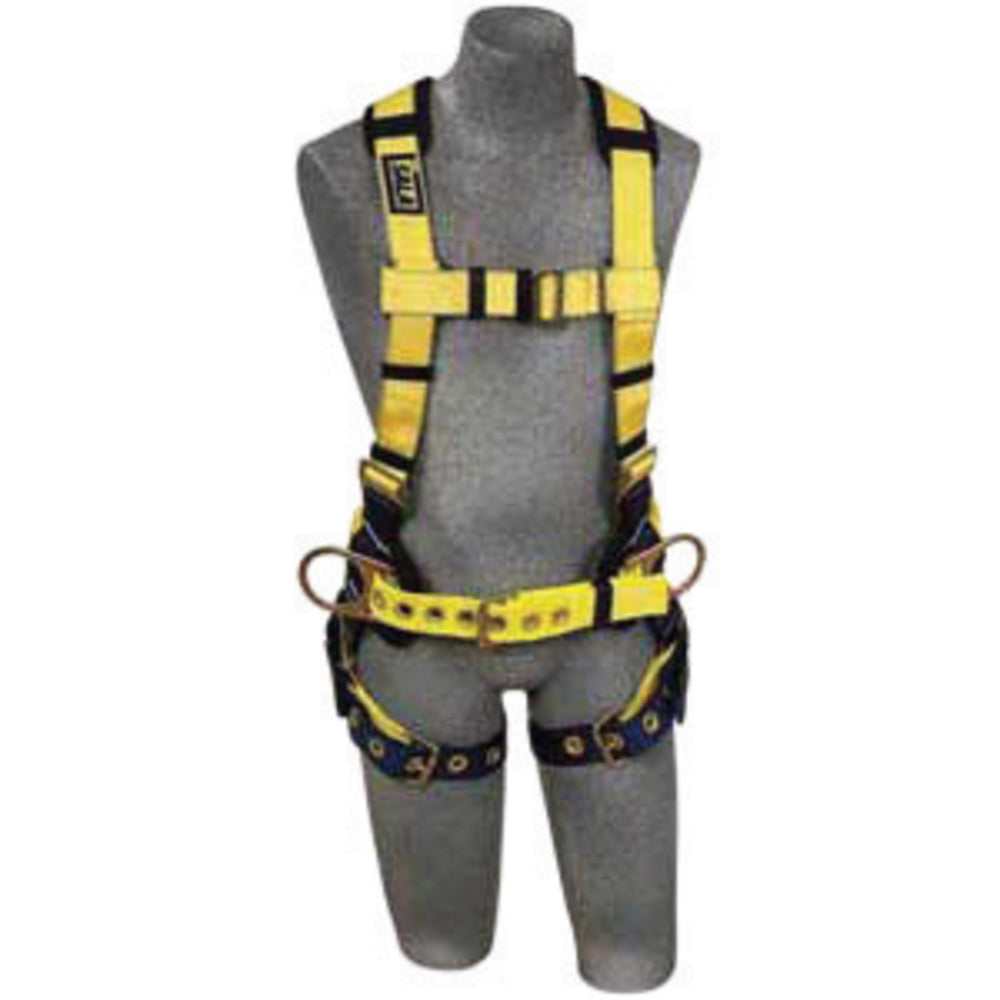 3M DBI-SALA X-Small Delta II No-Tangle Construction/Full Body/Vest Style Harness With Back And Side D-Ring, Tongue Leg Strap Buckle And Sewn-in Back Pad