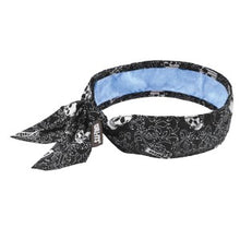 Load image into Gallery viewer, Ergodyne Chill-Its® 6700CT Evaporative Cooling Bandana with Cooling Towel - Tie