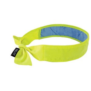 Ergodyne Chill-Its® 6700CT Evaporative Cooling Bandana with Cooling Towel - Tie
