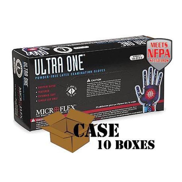 Microflex - Ultra One Latex Exam Gloves - Case