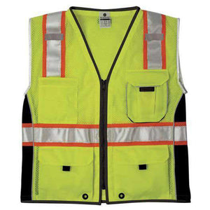 ML Kishigo - BLACK SERIES Heavy Duty Class 2 Vest