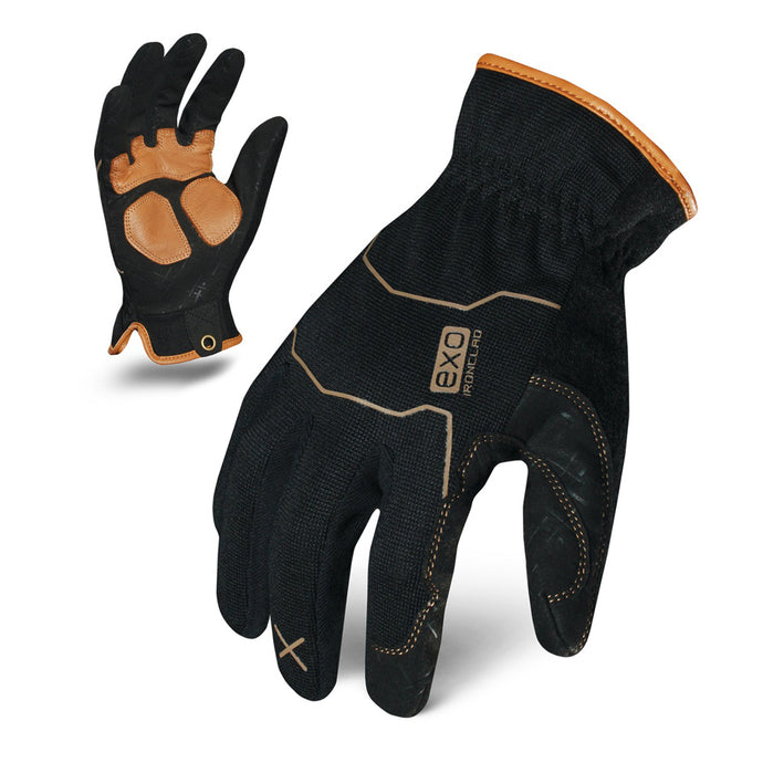 IronClad MOTOR UTILITY LEATHER REINFORCED Work Glove