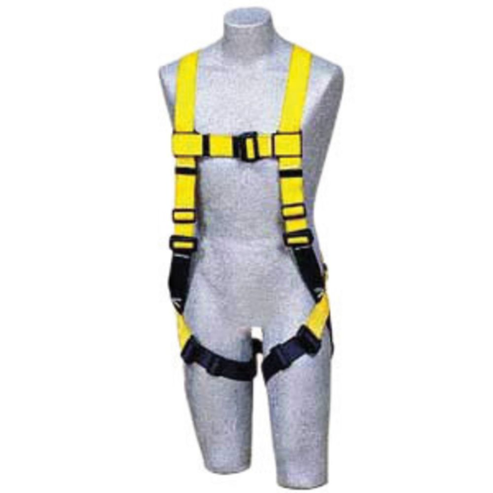 3M DBI-SALA X-Large Delta II No-Tangle Full Body/Vest Style Harness With Back D-Ring, Pass-Thru Leg Strap Buckle And Comfort Padding