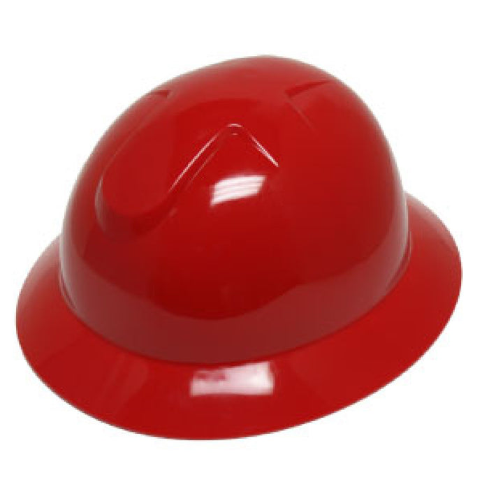 Durashell - Full Brim Hard Hat - Red