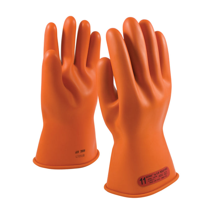 Protective Industrial Products-NOVAX® RUBBER ELECTRICAL INSULATING GLOVES, CLASS 0, 11 INCH