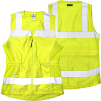 ML Kishigo - Deluxe Ladies ANSI Class 2 Female Fitted Safety Vest
