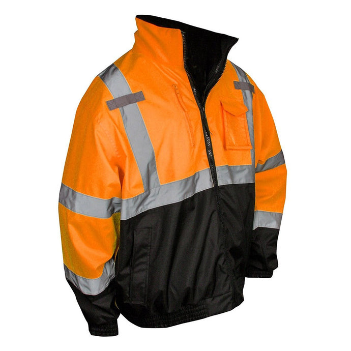 Radians - Three-in-One Deluxe Hi-Viz Bomber Jacket with Black Bottom