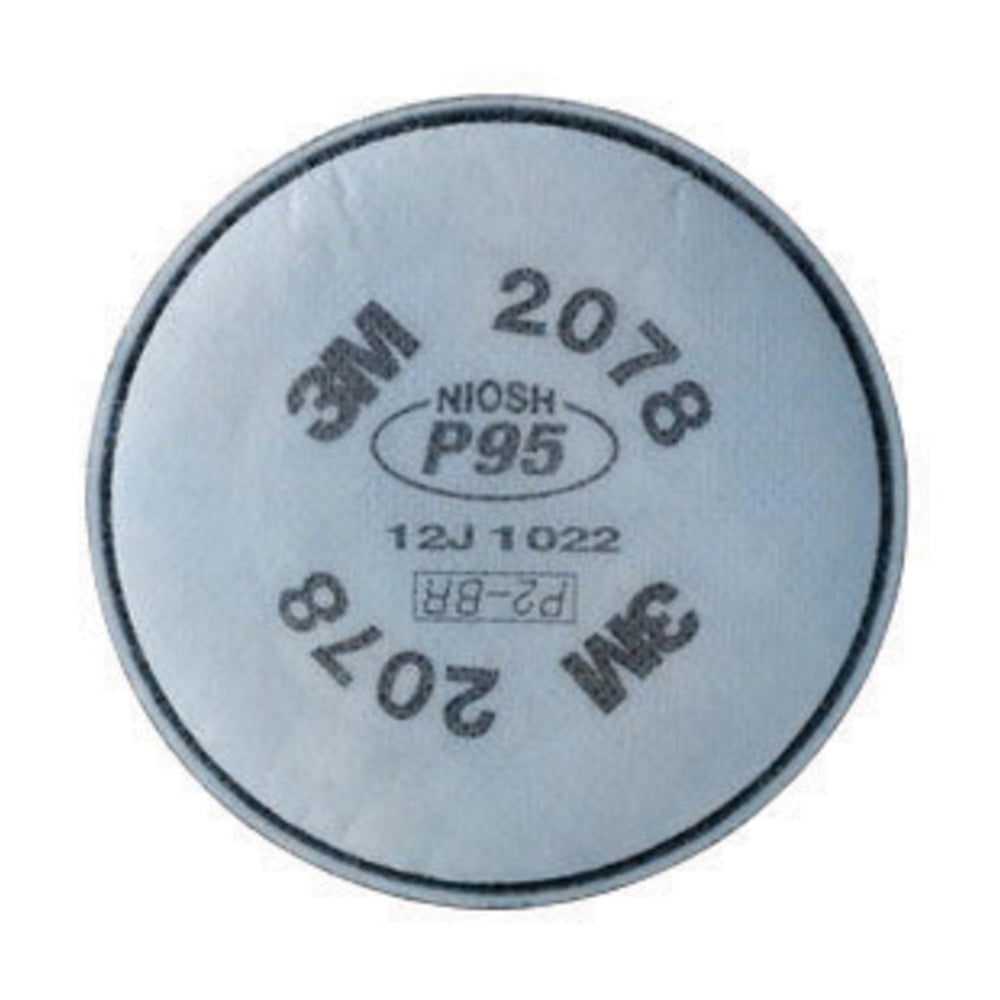 3M 2078 P95 Particulate Filter With Nuisance Level Organic Vapor/Acid Gas Relief
