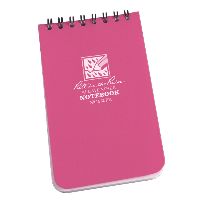 Rite in the Rain 1946PK Limited Edition All-Weather Notebook, Pink, 4