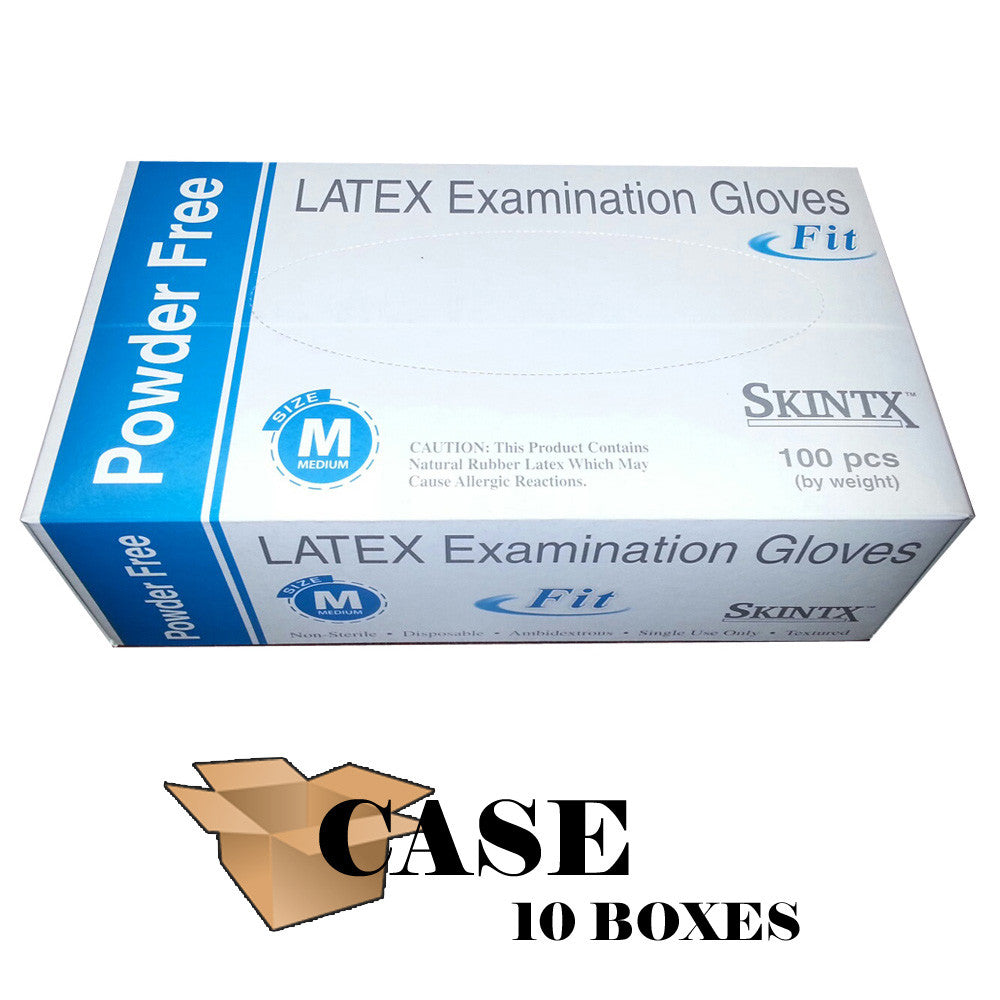 Skintx - Latex Powder-Free Exam Gloves Fit - CASE