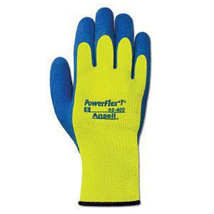 Ansell - PowerFlex - Yellow Gloves