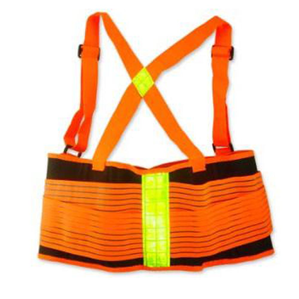 Deluxe High-vis Back Support