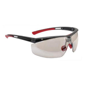 North By Honeywell Safety Glasses With Black Frame, Clear 4A Anti-Fog, Anti-Static And Anti-Scratch Indoor/Outdoor Mirror Lens