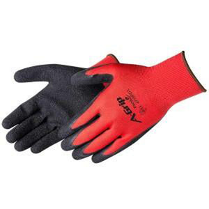 Liberty-A-GRIP® - PREMIUM TEXTURED BLACK LATEX PALM COATED SEAMLESS GLOVE