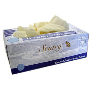 Sentry - Latex Gloves Powdered - Box