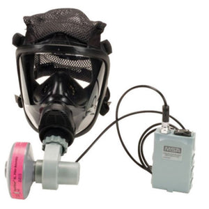 MSA Large OptimAir Series Full Mask Air Purifying Respirator