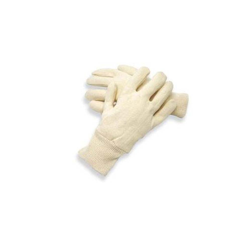 Reversible White Jersey Gloves