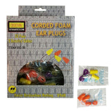 Foam Earplug (Box of 50 Pairs)