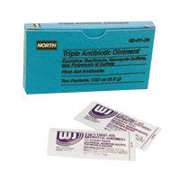 North By Honeywell 1 Gram Foil Pack Triple Antibiotic Ointment (10 Per Box)