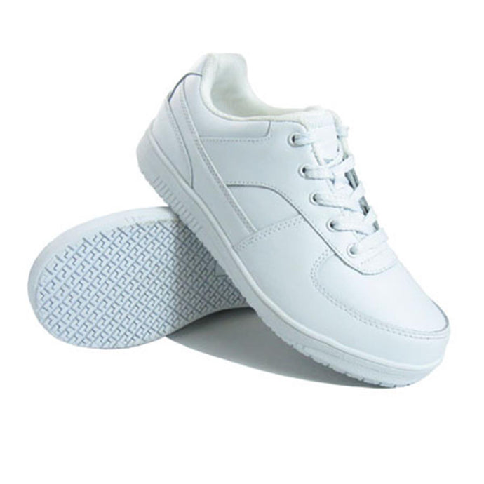 Genuine Grip Footwear- 215 White Sport Classic Women's Shoe