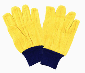 18 oz. Yellow Golden Chore Gloves