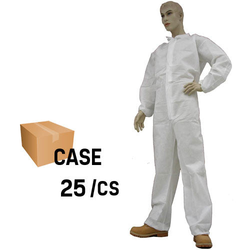 Environstar Coverall with Collar, Elastic Wrist & Ankle - Case