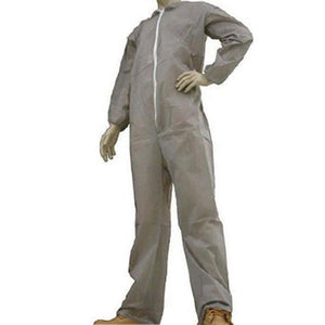 Environstar Gray Coverall with Elastic Wrist & Back - Case (25 Suits)
