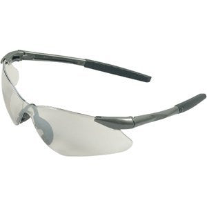 Jackson Nemesis Safety Glasses Gun Metal Frame Clear Anti-fog Lens