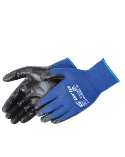 G-Grip Nitrile Foam Palm Coated Gloves - Dozen