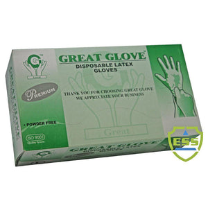 Great Glove - Premium Powder-free Latex Gloves - Box