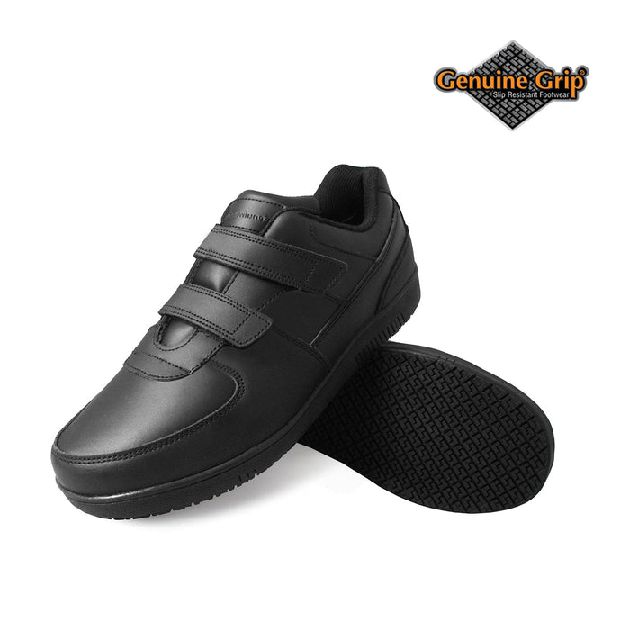 Genuine Grip Footwear- 230 Black Velcro Women's Shoe