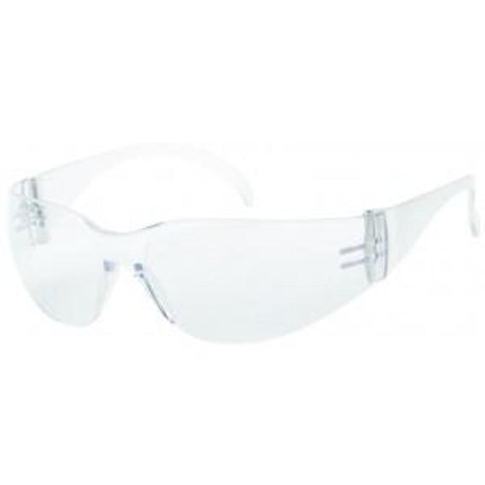 Clear Lens - Wrap-Around Style Safety Glasses