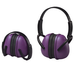 Purple Folding Ear Muff - NRR 23