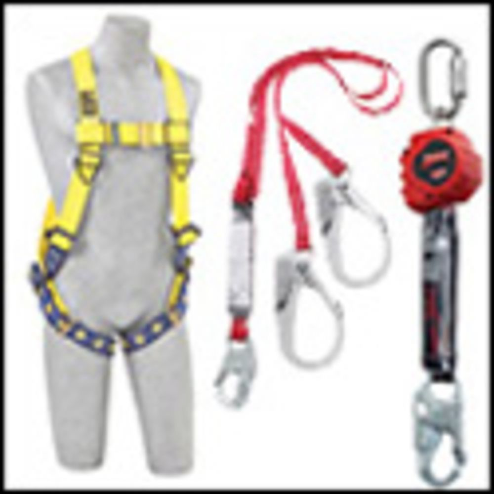 3M DBI-SALA 3X ExoFit Full Body Style Harness With (4) D-Ring