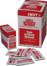 Swift First Aid 1 Gram Foil Pack Triple Antibiotic Ointment