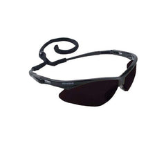 Jackson Nemesis Safety Glasses Black Frame - Smoke Lens Anti Fog