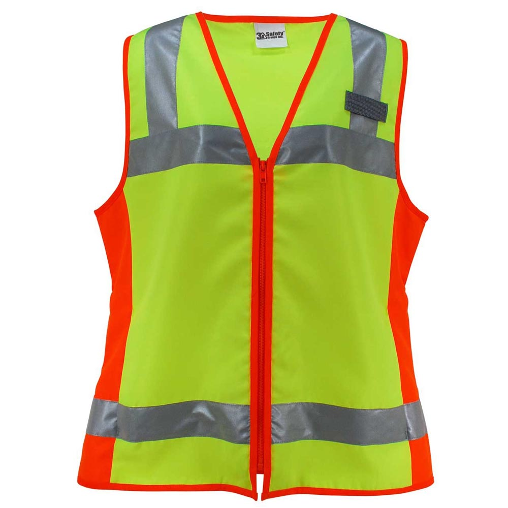 3A Safety - Deluxe Ladies ANSI Class 2 Female Fitted Safety Vest